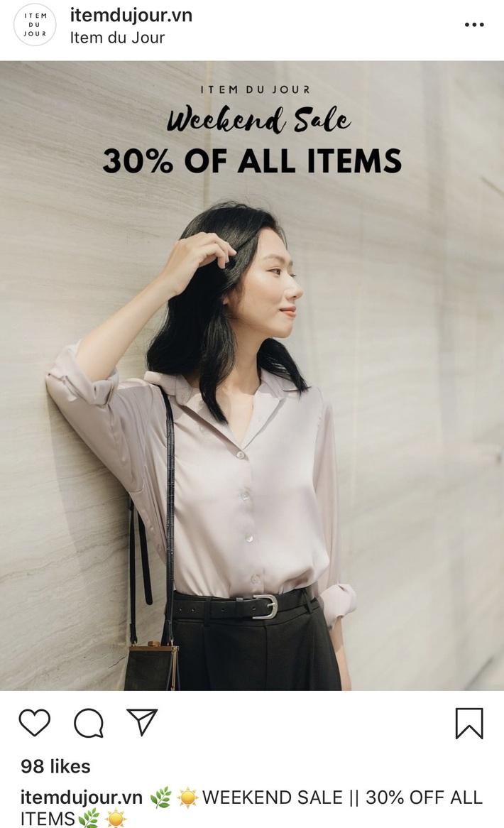 Còn gì vui hơn ở nhà shopping online: Bao nhiêu brand thời trang đang sale đây này chị em đã update chưa? - Ảnh 8.