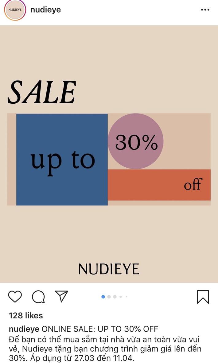 Còn gì vui hơn ở nhà shopping online: Bao nhiêu brand thời trang đang sale đây này chị em đã update chưa? - Ảnh 4.