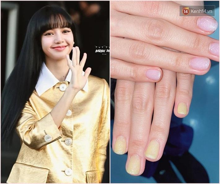 Làm nail kiểu Lisa: Không tô vẽ cầu kỳ mà toàn đính đá lồng lộn, nổi bần bật không trượt phát nào - Ảnh 1.