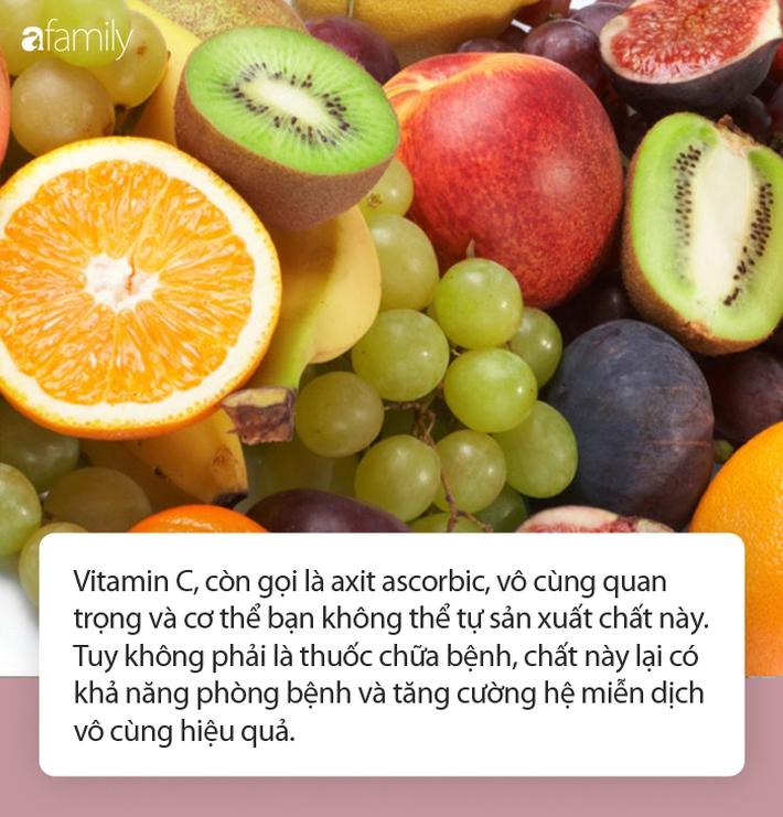 Không chỉ tăng cường miễn dịch, vitamin C còn là