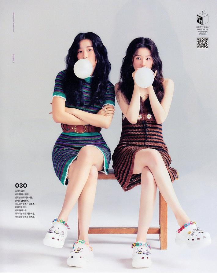 """Irene cứ lên sóng là lại được stylist chăm sóc """"tận răng"""", hết cắt đầm lại khâu váy che chắn vòng 1 - Ảnh 3."""