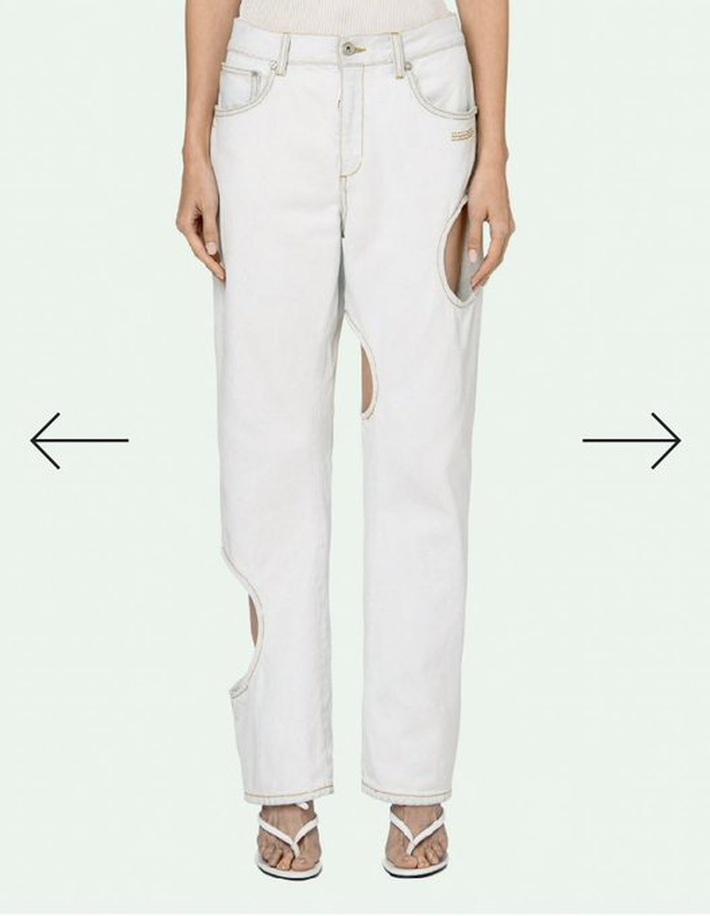 Loạt sao châu Á mê nhiều kiểu quần jeans quái đản nhưng đều không gắt bằng 2 kiểu quần jeans cắt khoét đỏ mặt của các hot girl   - Ảnh 3.