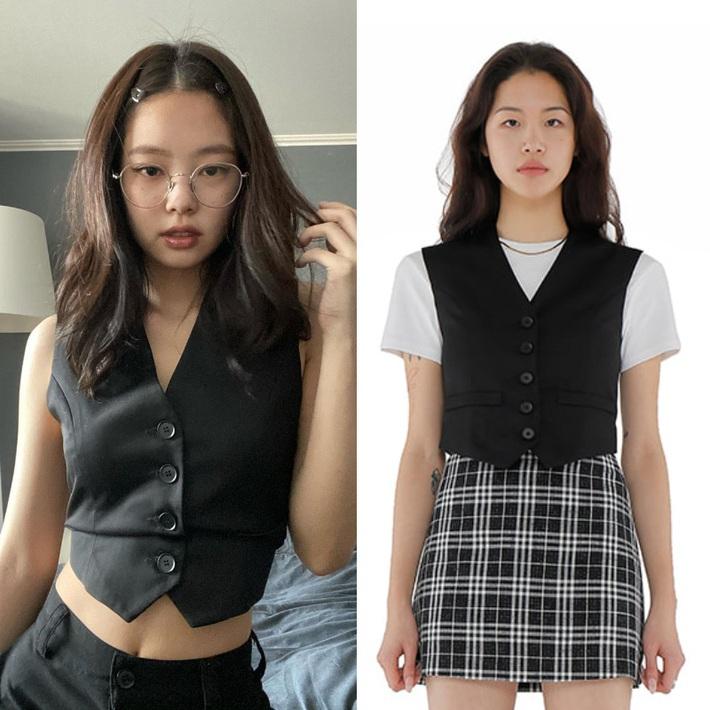 Jennie luôn có chiêu diện áo sang xịn hơn mẫu, body lại perfect nên mặc gì cũng khiến dân tình mê mệt  - Ảnh 2.