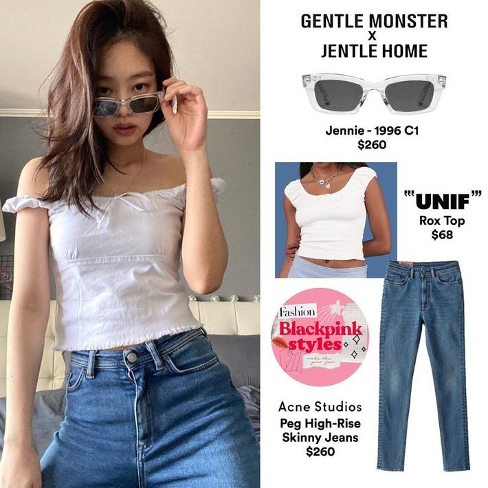Jennie luôn có chiêu diện áo sang xịn hơn mẫu, body lại perfect nên mặc gì cũng khiến dân tình mê mệt  - Ảnh 3.