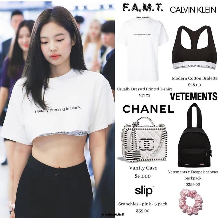 Jennie luôn có chiêu diện áo sang xịn hơn mẫu, body lại perfect nên mặc gì cũng khiến dân tình mê mệt  - Ảnh 6.