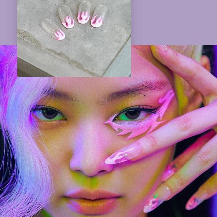 Quả là 4 thánh nữ tạo trend: Vừa rục rịch comeback, Black Pink đã khiến chị em rần rần makeup, làm nail theo - Ảnh 5.