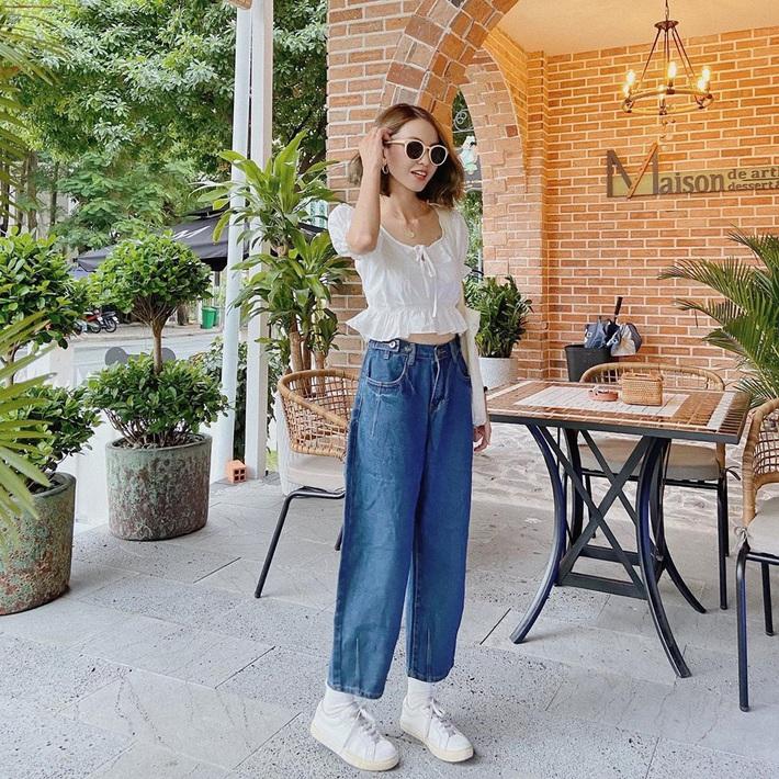 """Ngoài áo phông, vẫn có 11 kiểu áo mix cùng quần jeans """"auto"""" xịn đẹp, xem xong là chị em sẽ thấy cả chân trời mới - Ảnh 5."""