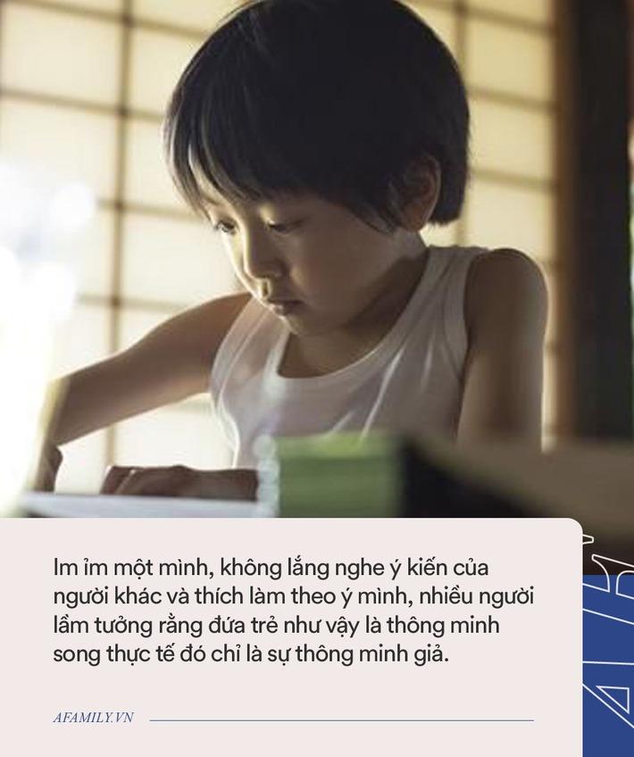 Trẻ có 4 loại hành vi dưới đây là thông minh giả, cha mẹ nên ngăn chặn kịp thời nếu phát hiện ra - Ảnh 3.