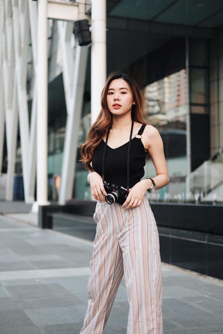 Cô bạn thân của Lisa ở Thái Lan: Nhan sắc đẹp chẳng kém idol, style đơn giản mà vẫn sexy hết nút - Ảnh 12.