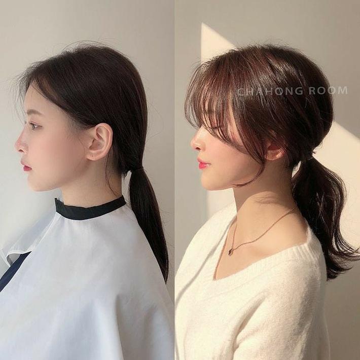 """Để kiểu tóc mái cong chữ S thì mặt nào cũng được """"nịnh"""", """"biến hình xinh lên trông thấy - Ảnh 3."""