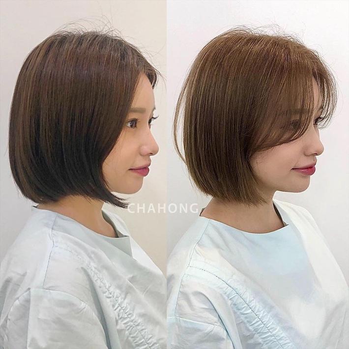 """Để kiểu tóc mái cong chữ S thì mặt nào cũng được """"nịnh"""", """"biến hình xinh lên trông thấy - Ảnh 10."""