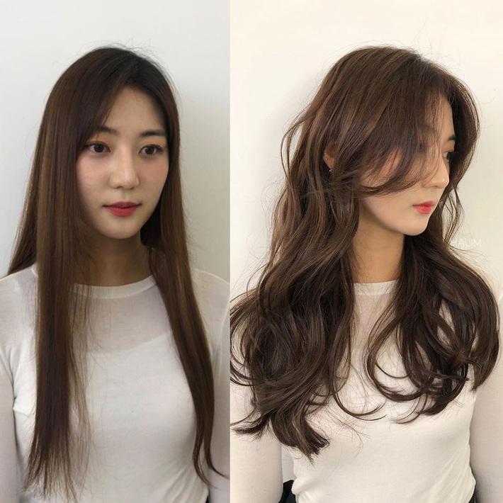 """Để kiểu tóc mái cong chữ S thì mặt nào cũng được """"nịnh"""", """"biến hình xinh lên trông thấy - Ảnh 8."""