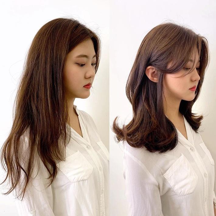 """Để kiểu tóc mái cong chữ S thì mặt nào cũng được """"nịnh"""", """"biến hình xinh lên trông thấy - Ảnh 7."""