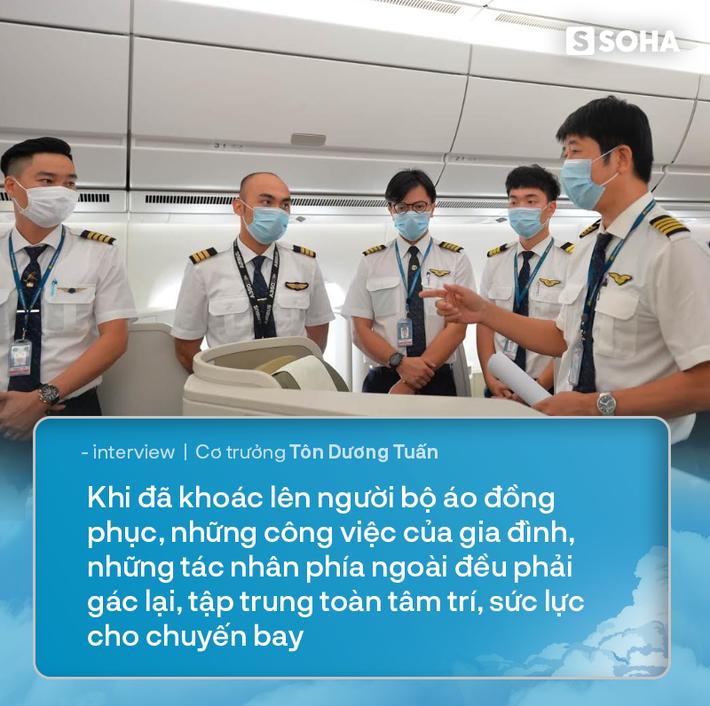 Cơ trưởng chuyến bay đưa 129 người nhiễm Covid-19 từ Guinea Xích Đạo về Việt Nam: Đó là mệnh lệnh từ trái tim - Ảnh 6.