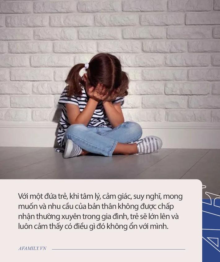 Có đứa trẻ sống trong gia đình nhìn rất đỗi êm đềm nhưng lớn lên lại bị rối loạn nhân cách, nguyên nhân nằm ở những lời nói như này của cha mẹ - Ảnh 3.