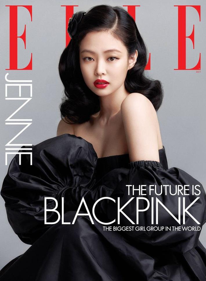 BLACKPINK lên hẳn bìa Elle Mỹ: Ngất lịm với kiểu tóc già đanhcủa Jennie, Rosé xuất thần, Jisoo - Lisa vẫn một màu - Ảnh 2.