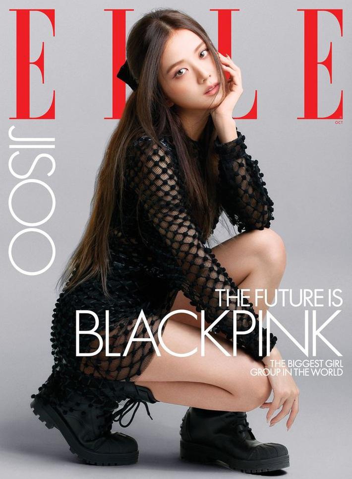 BLACKPINK lên hẳn bìa Elle Mỹ: Ngất lịm với kiểu tóc già đanhcủa Jennie, Rosé xuất thần, Jisoo - Lisa vẫn một màu - Ảnh 5.