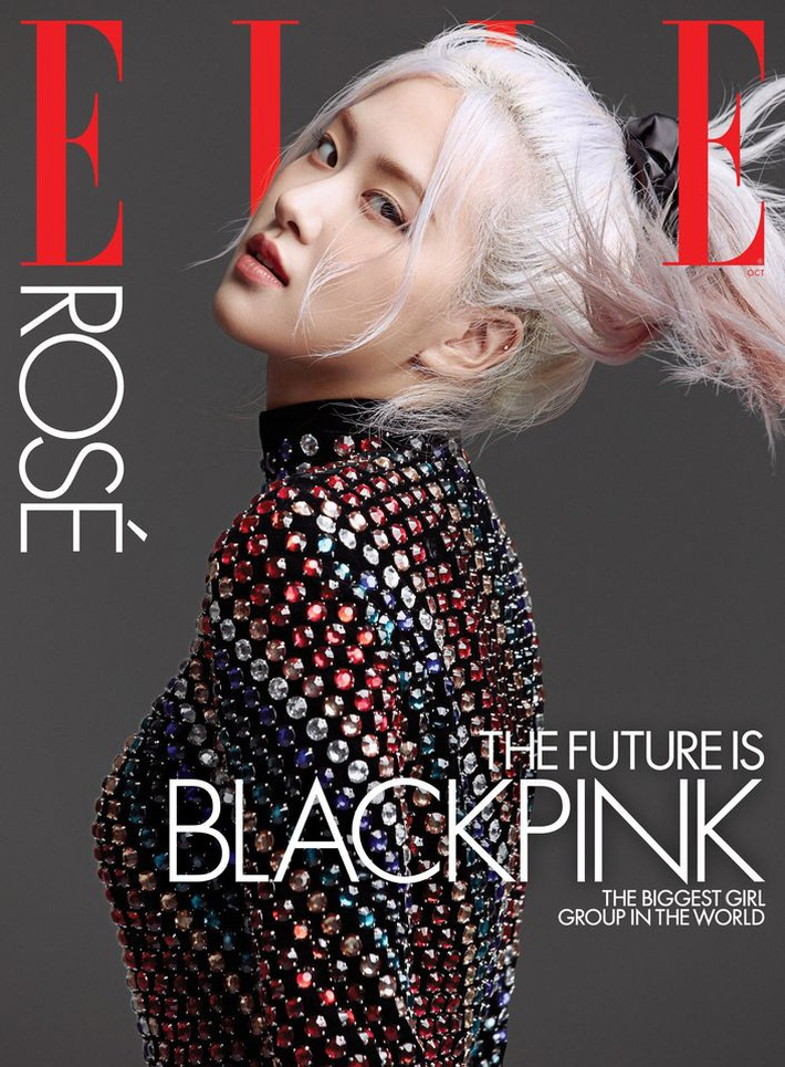 BLACKPINK lên hẳn bìa Elle Mỹ: Ngất lịm với kiểu tóc già đanhcủa Jennie, Rosé xuất thần, Jisoo - Lisa vẫn một màu - Ảnh 3.