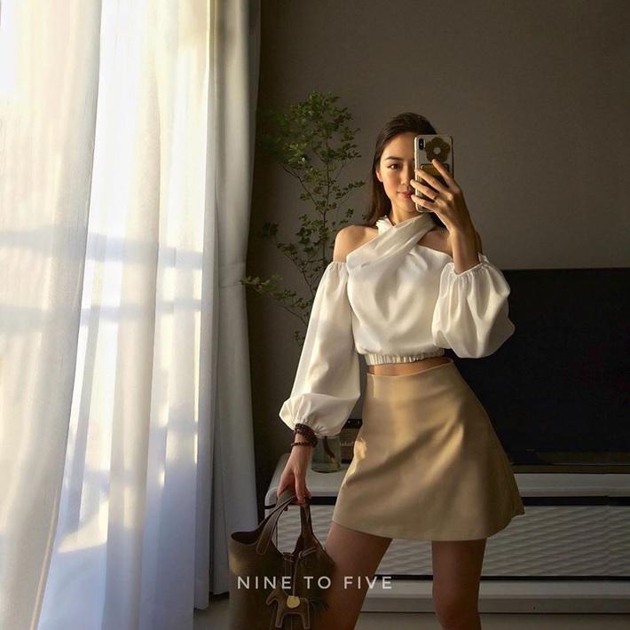 Sắm blouse trắng tiểu thư chanh sả rồi găm đủ 3 bí kíp mix đồ thì bạn sẽ thăng hạng phong cách ngay - Ảnh 6.