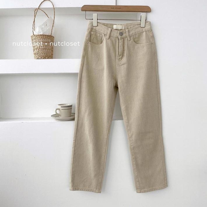 Item sắm mùa thu diện quanh năm chính là quần màu be: Đẹp mọi nơi mọi lúc, mix với áo gì cũng ok lah - Ảnh 11.