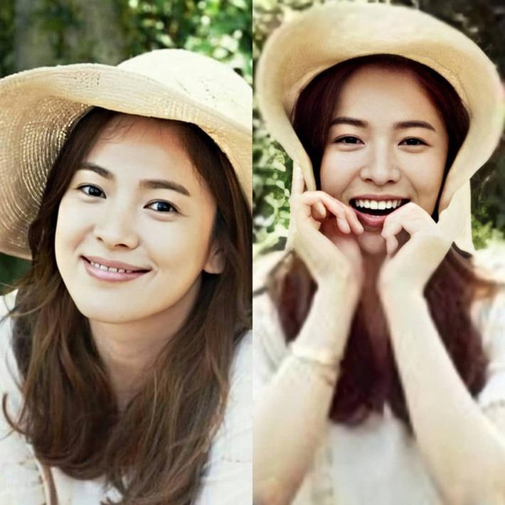 Nhan sắc của Song Hye Kyo xuất chúng đến nỗi chấp được cả những kiểu mũ sến và xuề xoà nhất! - Ảnh 2.