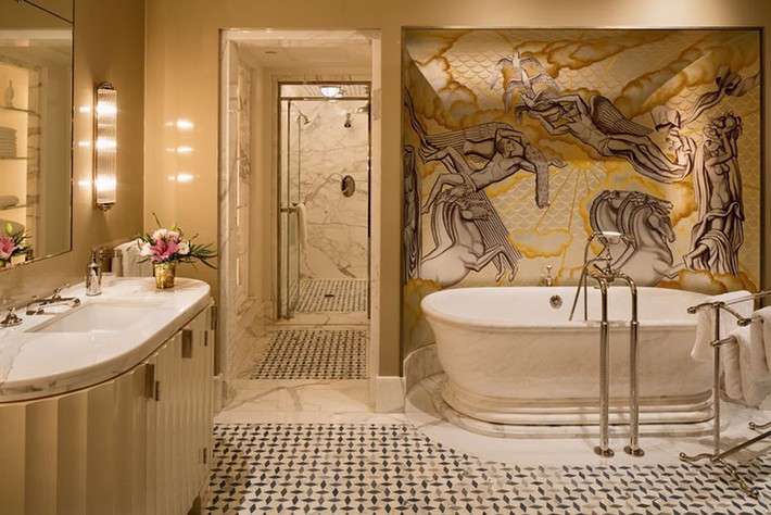 Bất kể lớn bé thế nào thì một căn phòng tắm với thiết kế bồn tắm luôn là tuyệt vời nhất - Ảnh 13.