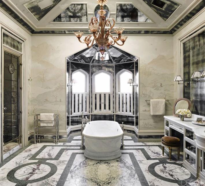 Bất kể lớn bé thế nào thì một căn phòng tắm với thiết kế bồn tắm luôn là tuyệt vời nhất - Ảnh 16.