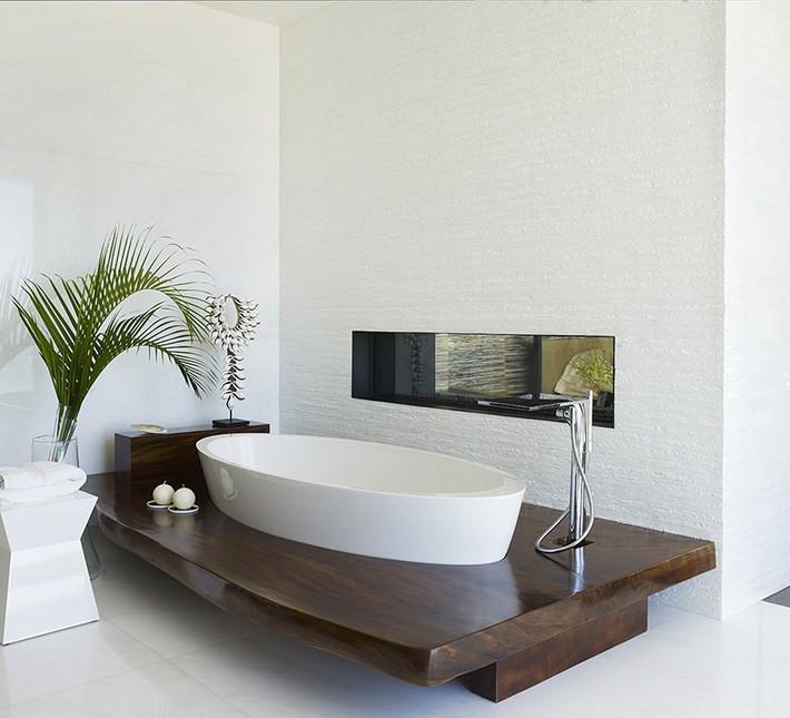 Bất kể lớn bé thế nào thì một căn phòng tắm với thiết kế bồn tắm luôn là tuyệt vời nhất - Ảnh 5.