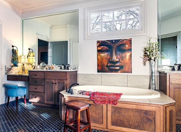 Bất kể lớn bé thế nào thì một căn phòng tắm với thiết kế bồn tắm luôn là tuyệt vời nhất - Ảnh 8.