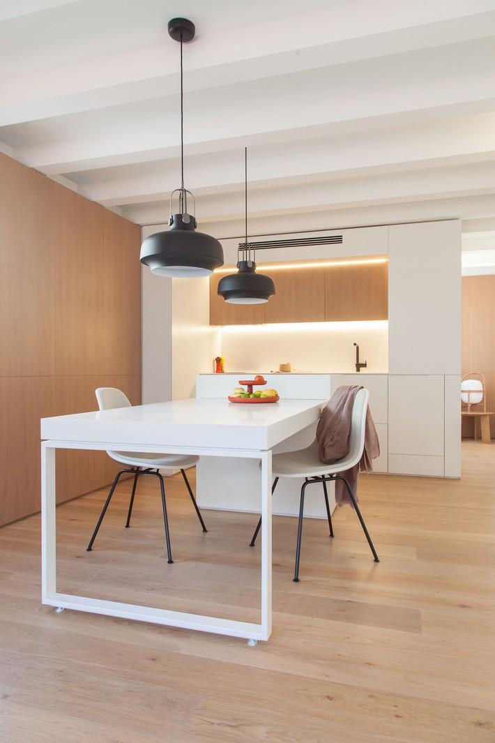 Nhà nhỏ nhưng không bí bách nhờ những món đồ nội thất đa chức năng   - Ảnh 5.