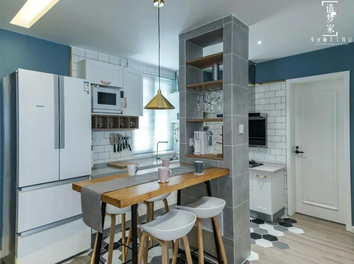 Cô gái sống vui vẻ trong căn hộ 90m2 nhờ vẻ đẹp đơn giản và tươi mới trong cách kết hợp màu sắc - Ảnh 9.