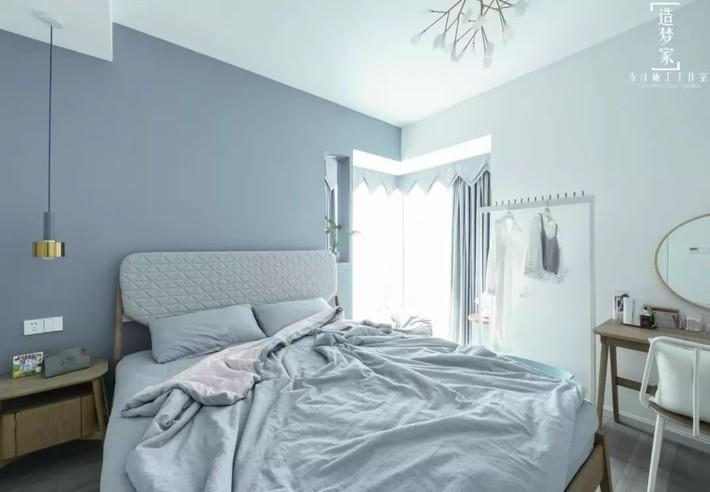 Cô gái sống vui vẻ trong căn hộ 90m2 nhờ vẻ đẹp đơn giản và tươi mới trong cách kết hợp màu sắc - Ảnh 10.