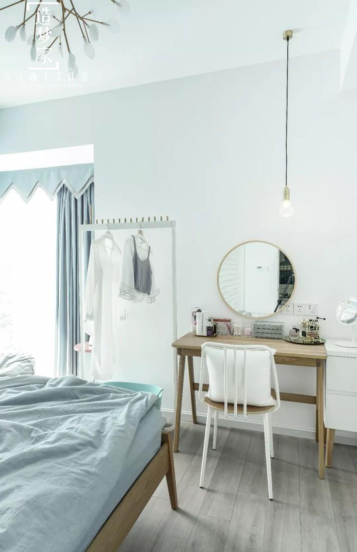 Cô gái sống vui vẻ trong căn hộ 90m2 nhờ vẻ đẹp đơn giản và tươi mới trong cách kết hợp màu sắc - Ảnh 11.