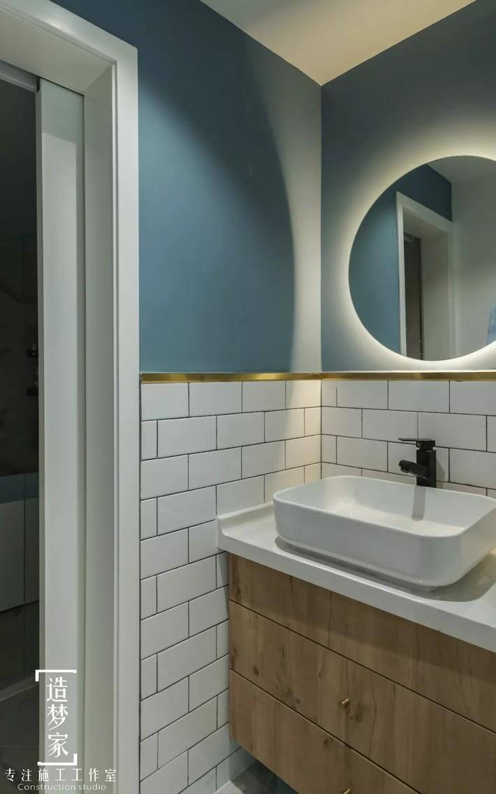 Cô gái sống vui vẻ trong căn hộ 90m2 nhờ vẻ đẹp đơn giản và tươi mới trong cách kết hợp màu sắc - Ảnh 12.