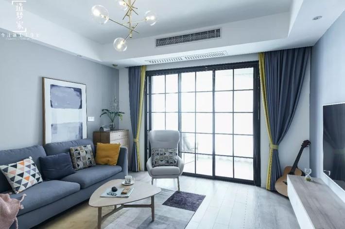 Cô gái sống vui vẻ trong căn hộ 90m2 nhờ vẻ đẹp đơn giản và tươi mới trong cách kết hợp màu sắc - Ảnh 3.