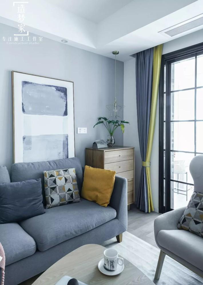Cô gái sống vui vẻ trong căn hộ 90m2 nhờ vẻ đẹp đơn giản và tươi mới trong cách kết hợp màu sắc - Ảnh 5.