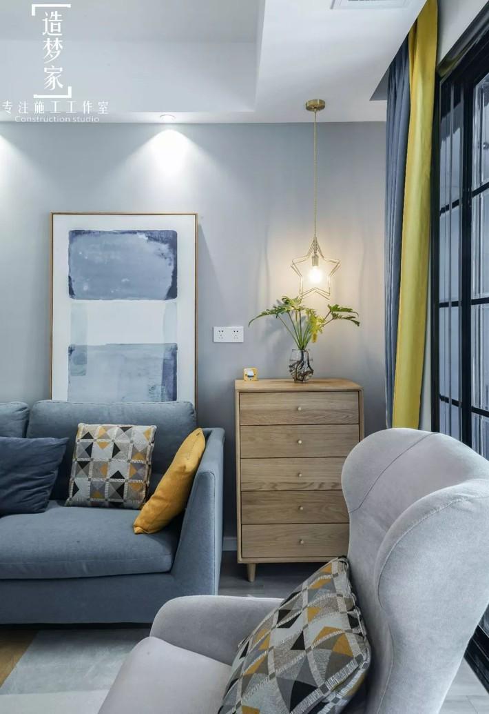 Cô gái sống vui vẻ trong căn hộ 90m2 nhờ vẻ đẹp đơn giản và tươi mới trong cách kết hợp màu sắc - Ảnh 6.