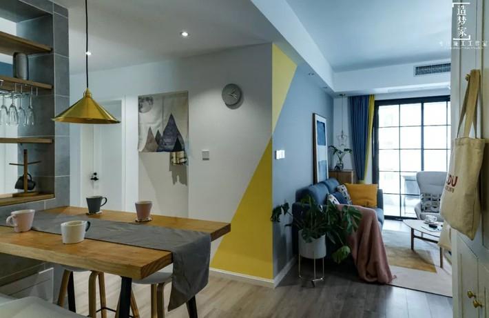 Cô gái sống vui vẻ trong căn hộ 90m2 nhờ vẻ đẹp đơn giản và tươi mới trong cách kết hợp màu sắc - Ảnh 7.