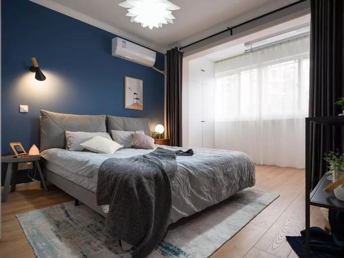 Phong cách Bắc Âu nhẹ nhàng với tông màu xanh, ghi, hồng được kết hợp vô cùng đặc biệt trong căn hộ 56m²  - Ảnh 12.