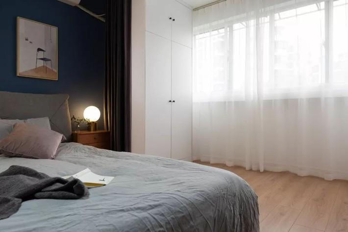 Phong cách Bắc Âu nhẹ nhàng với tông màu xanh, ghi, hồng được kết hợp vô cùng đặc biệt trong căn hộ 56m²  - Ảnh 15.