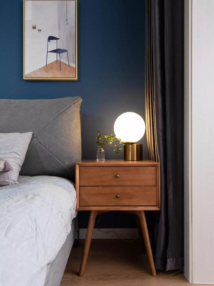 Phong cách Bắc Âu nhẹ nhàng với tông màu xanh, ghi, hồng được kết hợp vô cùng đặc biệt trong căn hộ 56m²  - Ảnh 14.
