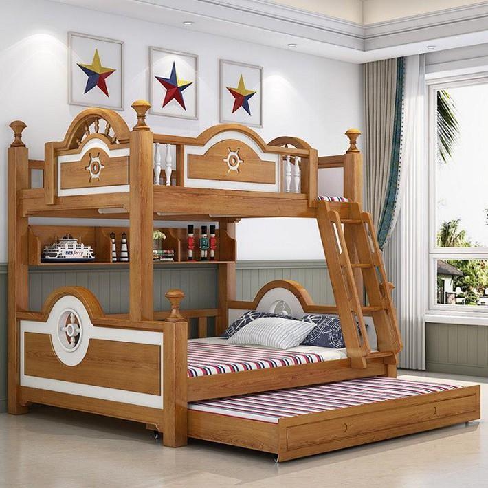 Diện tích nhà nhỏ mà đông con thì đây là thiết kế mà các ông bố, bà mẹ cần phải biết - Ảnh 4.