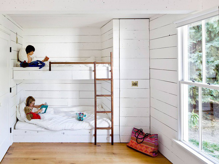 Diện tích nhà nhỏ mà đông con thì đây là thiết kế mà các ông bố, bà mẹ cần phải biết - Ảnh 9.
