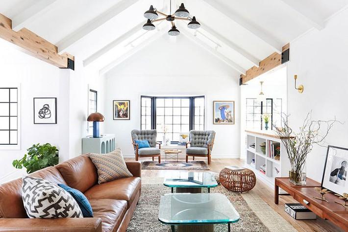Những điều bạn nhất định phải biết khi xu hướng lựa chọn ghế sofa da đang quay trở lại - Ảnh 3.