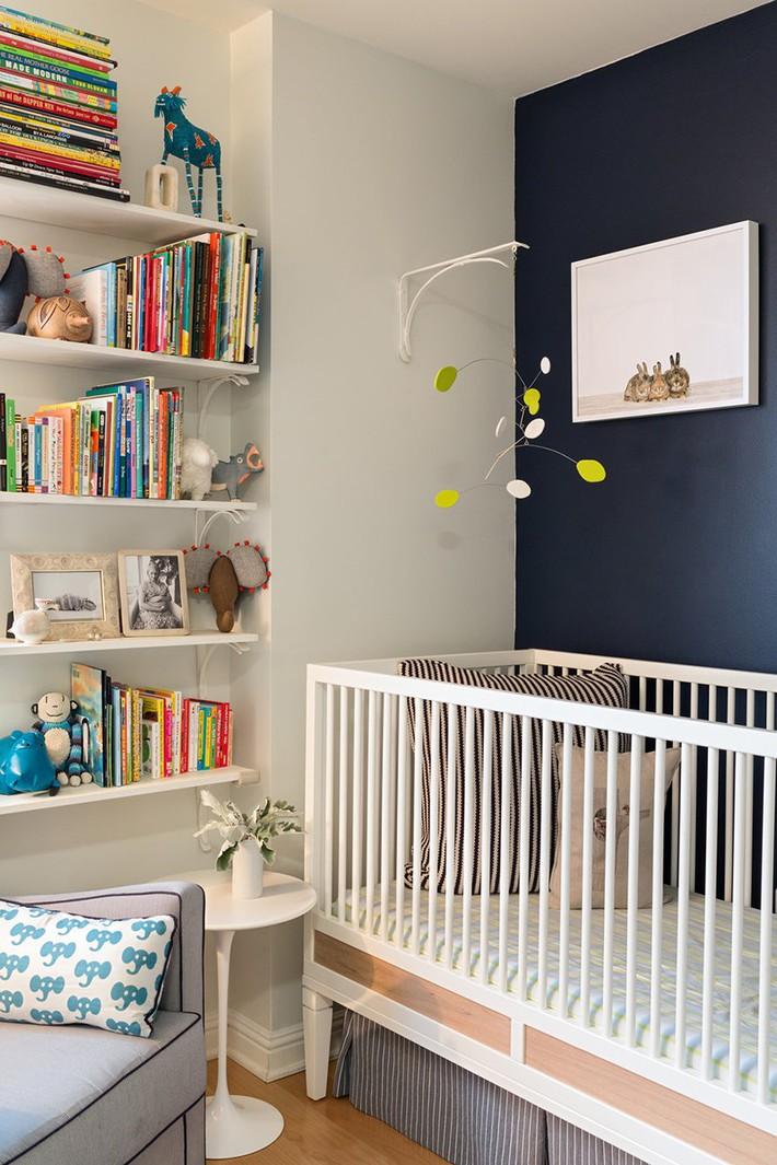 Những mẫu thiết kế phòng trẻ sơ sinh đủ khiến bạn choáng ngợp chẳng nói nên lời - Ảnh 10.