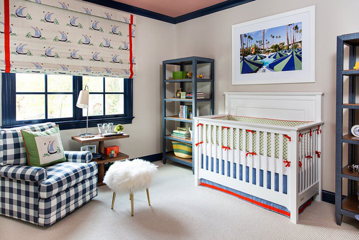 Những mẫu thiết kế phòng trẻ sơ sinh đủ khiến bạn choáng ngợp chẳng nói nên lời - Ảnh 11.