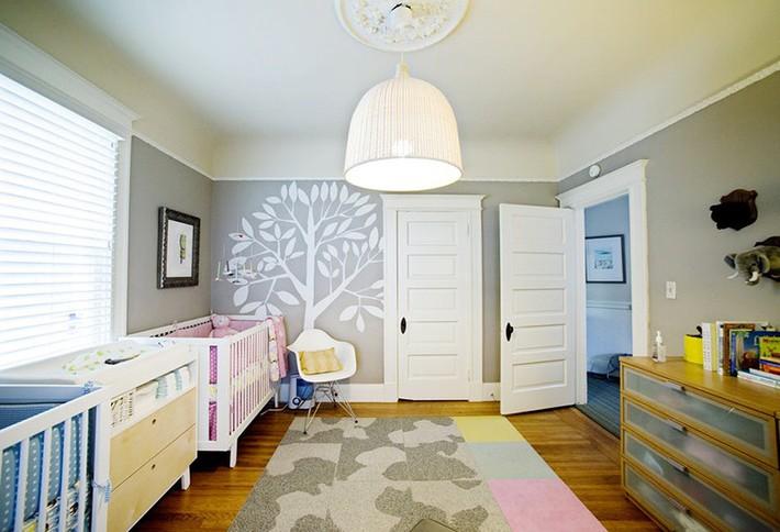 Những mẫu thiết kế phòng trẻ sơ sinh đủ khiến bạn choáng ngợp chẳng nói nên lời - Ảnh 12.