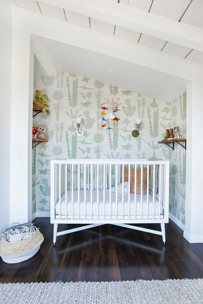 Những mẫu thiết kế phòng trẻ sơ sinh đủ khiến bạn choáng ngợp chẳng nói nên lời - Ảnh 15.