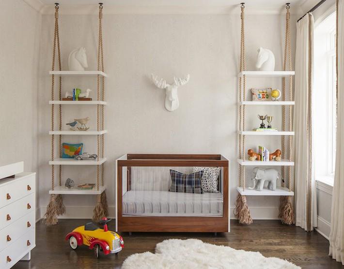 Những mẫu thiết kế phòng trẻ sơ sinh đủ khiến bạn choáng ngợp chẳng nói nên lời - Ảnh 16.