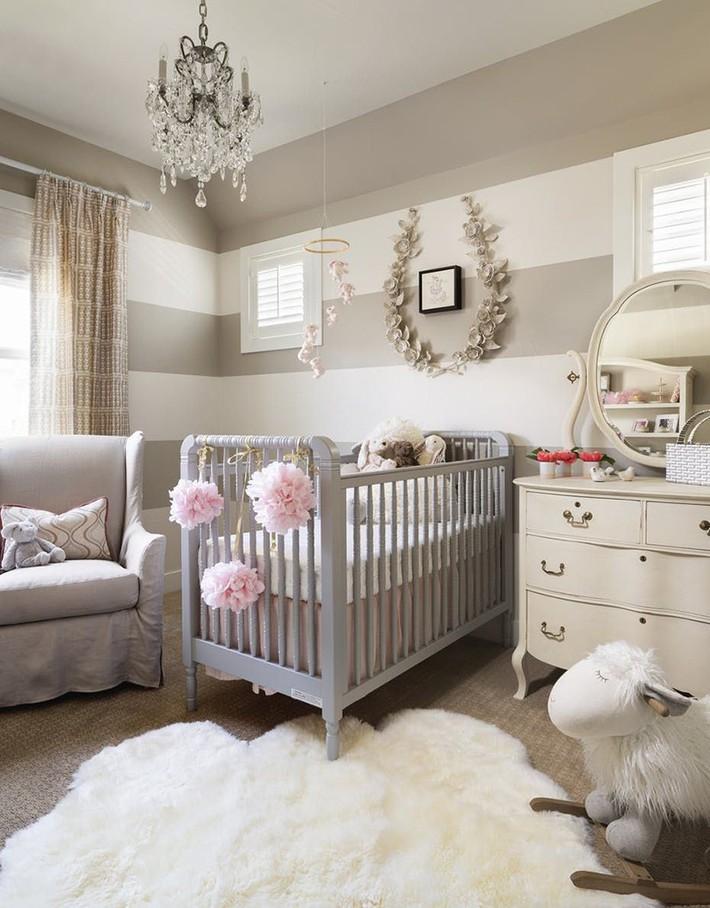 Những mẫu thiết kế phòng trẻ sơ sinh đủ khiến bạn choáng ngợp chẳng nói nên lời - Ảnh 17.